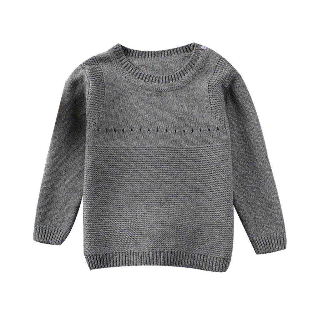 2c5546182 Amazon.com  Toddler Baby Boy Girl Knit Sweater Cute Bunny Unisex Kid ...