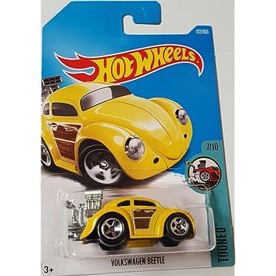 Hot Wheels 2020 Tooned Volkswagen Beetle 172/365, Yellow: Toys & Games