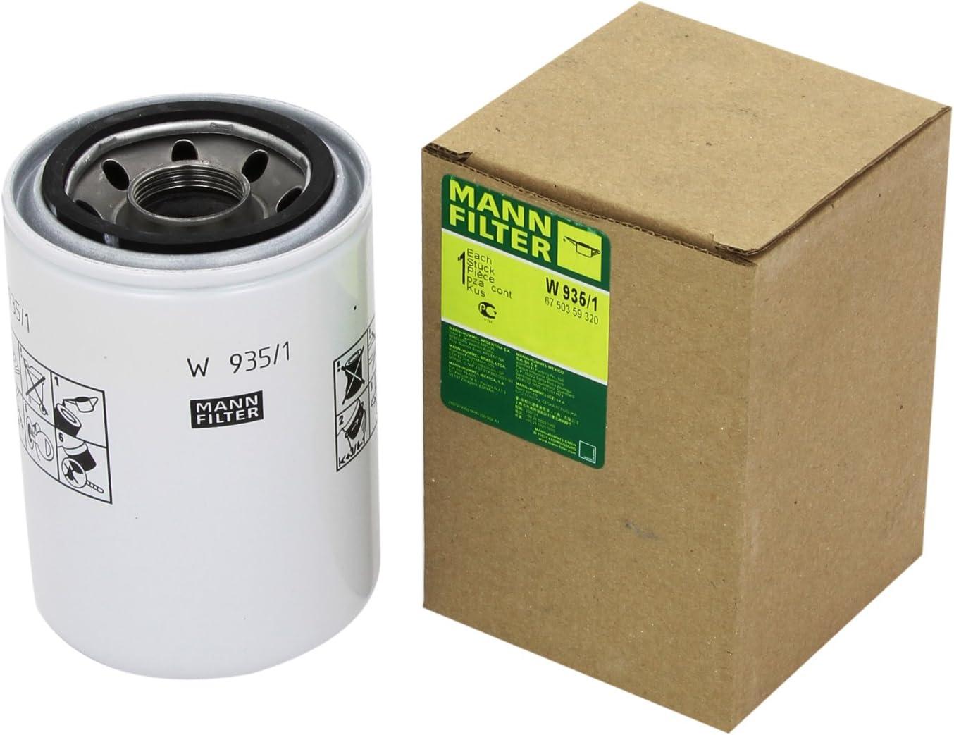 lavoro idraulico w935//1 Mann-Filter Filtro