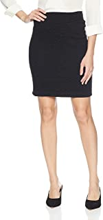 product image for Only Hearts Women's Stretch Matelasse Knee Length Pencil Skirt
