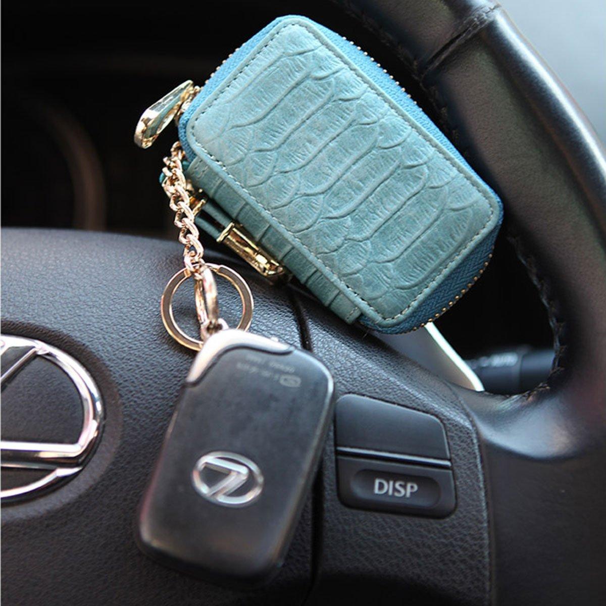 Gray Style Etui porte-cl/és Bleu marine taille unique
