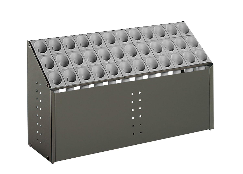 テラモト オブリークアーバン C36 全4色 全4サイズ 施設向け 傘立て グレー 36本収納 UB-285-236 [正規代理店品] B0033VW2QI 20790  グレー