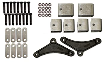 Amazon r and p carriages 7000 tandem axle spring hanger kit r and p carriages 7000 tandem axle spring hanger kit sciox Choice Image
