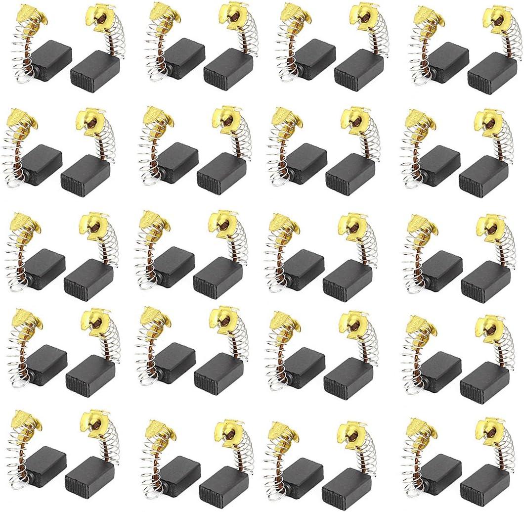 sourcing map 20 Paare Elektrowerkzeug 16mm x 10mm x 6mm Elektromotor Kohleb/ürsten Ersatz DE de