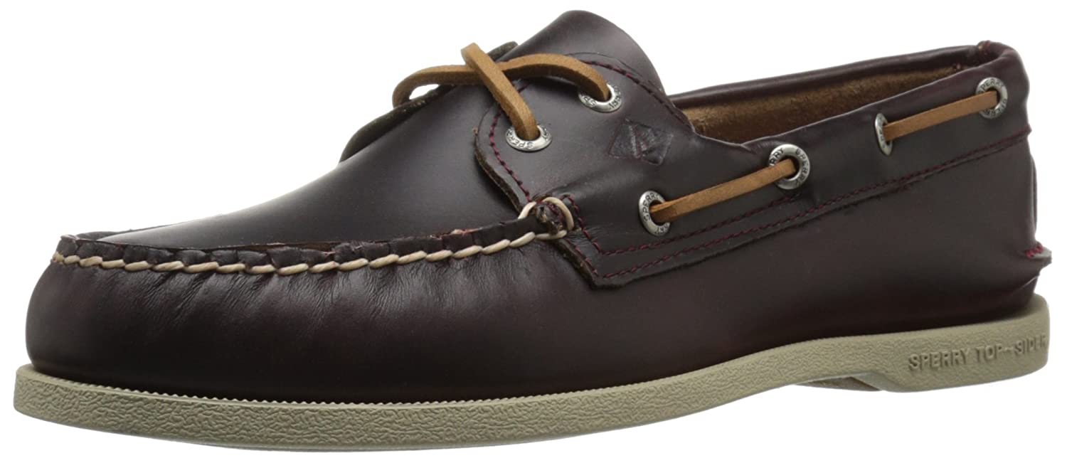 Sperry Top-Sider Mens A/O Waterloo Boat Shoe  85 D(M) US|Burgundy