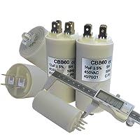 Condensatore–clip di avvio e attacco a vite