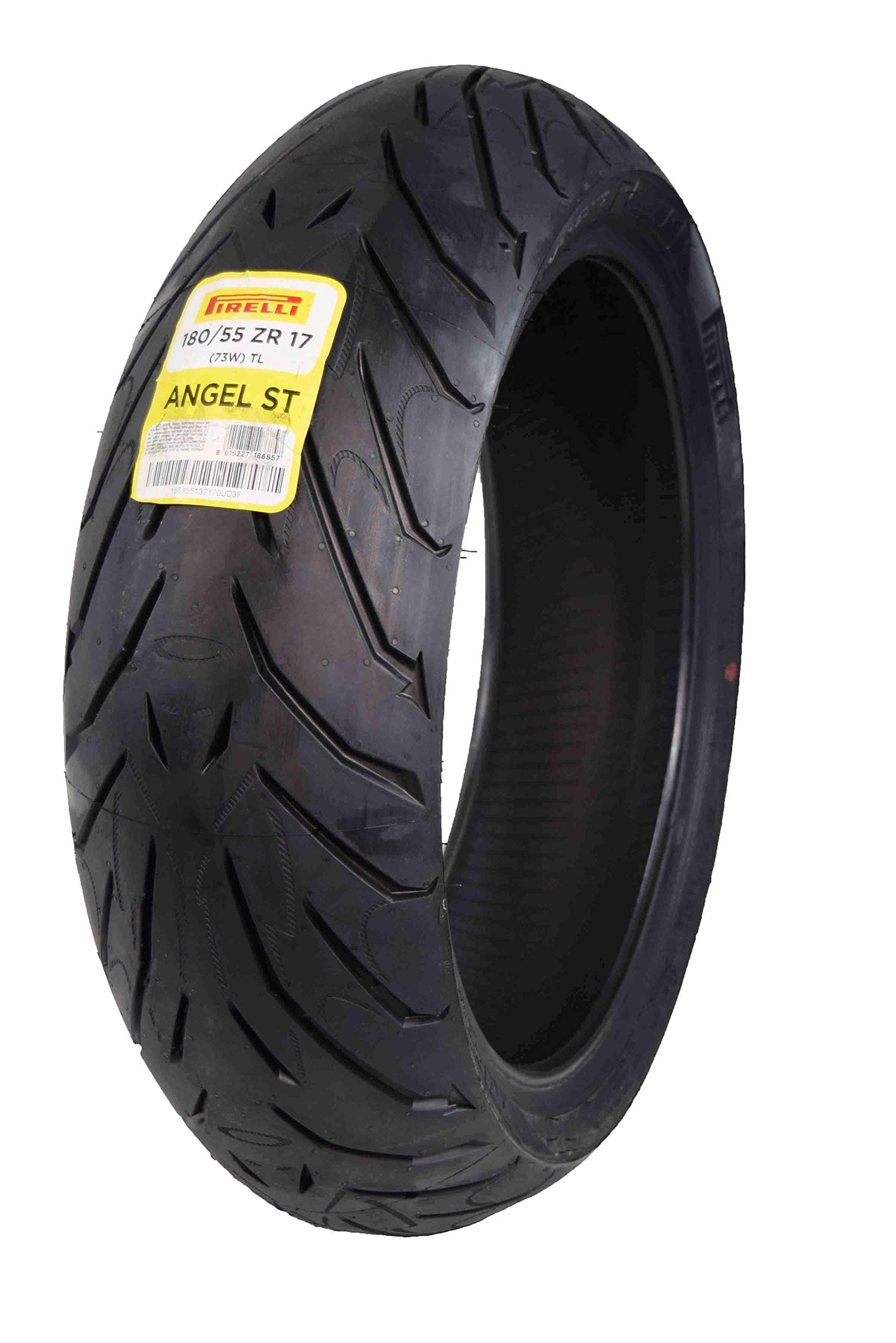 Pirelli Angel ST Rear Street Sport Touring Motorcycle Tires (1x Rear 180/55ZR17)