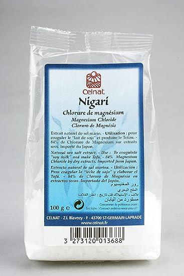 Nigari - Chloride of natural magnesium - 100 g - CELNAT
