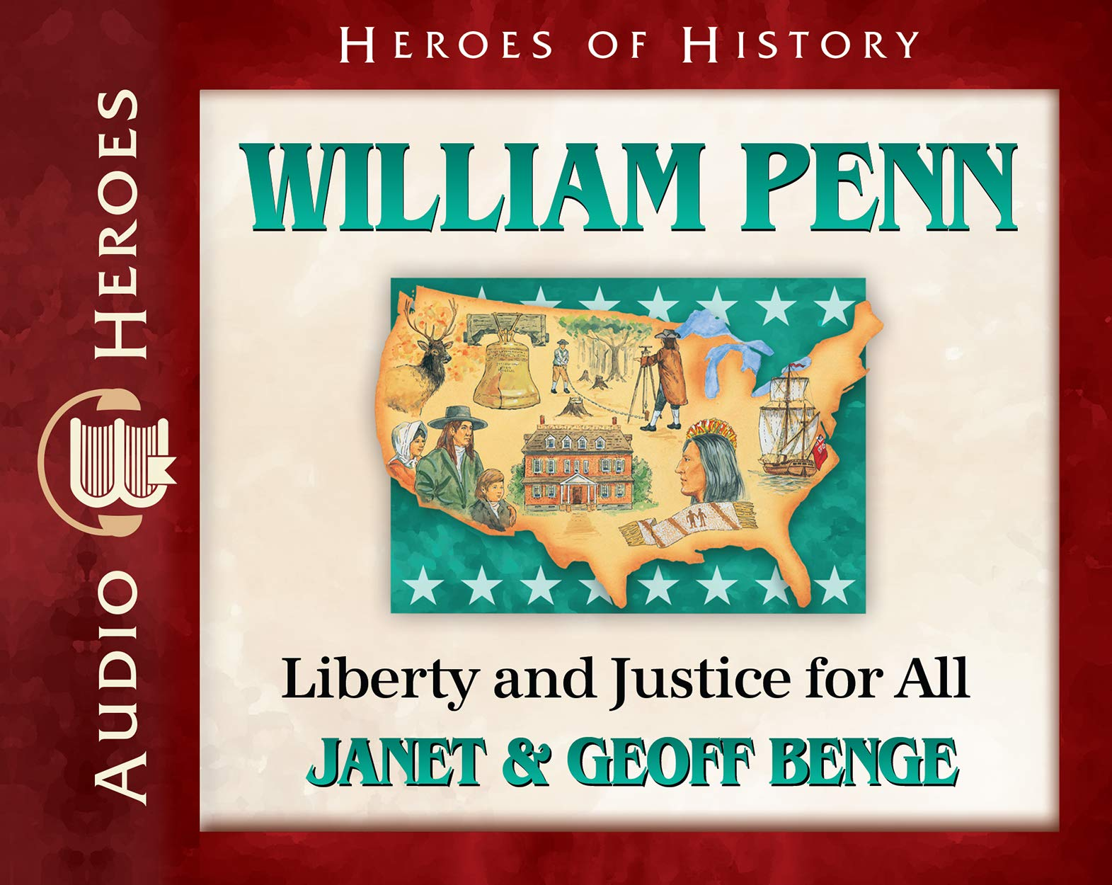 Download William Penn Audiobook: Liberty and Justice for All (Heroes of History) ebook