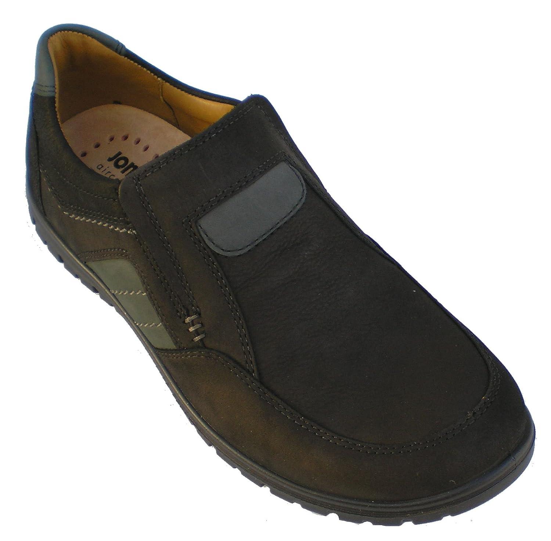 Jomos Mens Leather Slipper