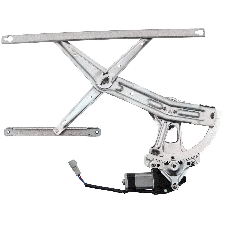 Silver Hose /& Stainless Blue Banjos Pro Braking PBR2731-SIL-BLU Rear Braided Brake Line
