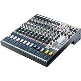 Soundcraft RW5758EU EFX8  - Consola de 8 vías mono + estéreo de 2 vías (efectos léxico, XLR), color  gris
