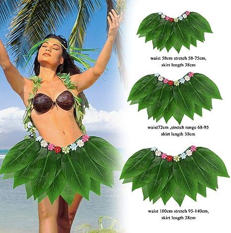 gaeruite Hula Skirt, Simulation Hojas para Adultos, Swing Dance ...