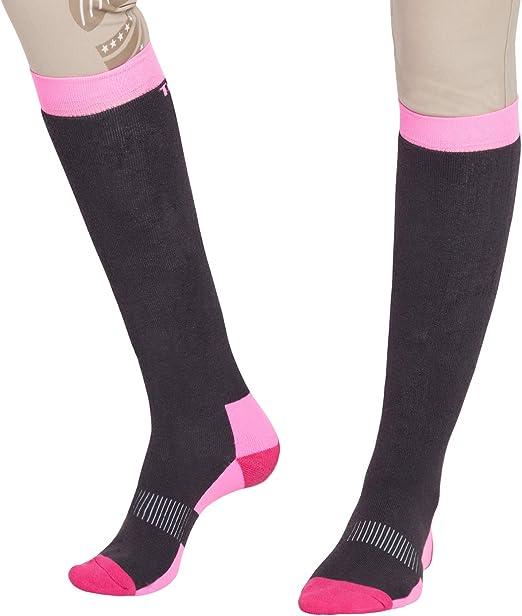 TuffRider Neon Pony Kids Socks 3 Pack