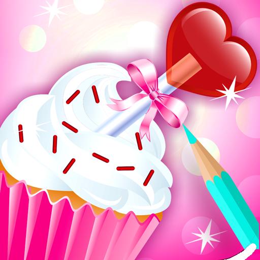 Cupcake Para Colorear Libro Amazones Appstore Para Android