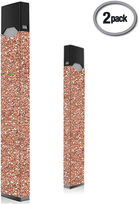 2 Pack Pink Glitter Juul SkinJuul DecalJuul Wrap