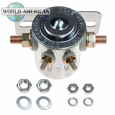 World American WA06-24063 Heavy Duty Solenoid: Automotive