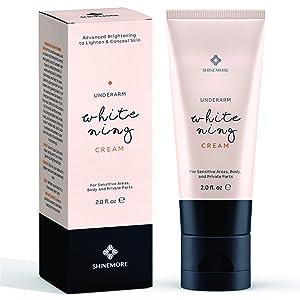 Shinemore Dark Spot Cream Natural Underarm Cream, Dark Spot Corrector Remover for Face and Body