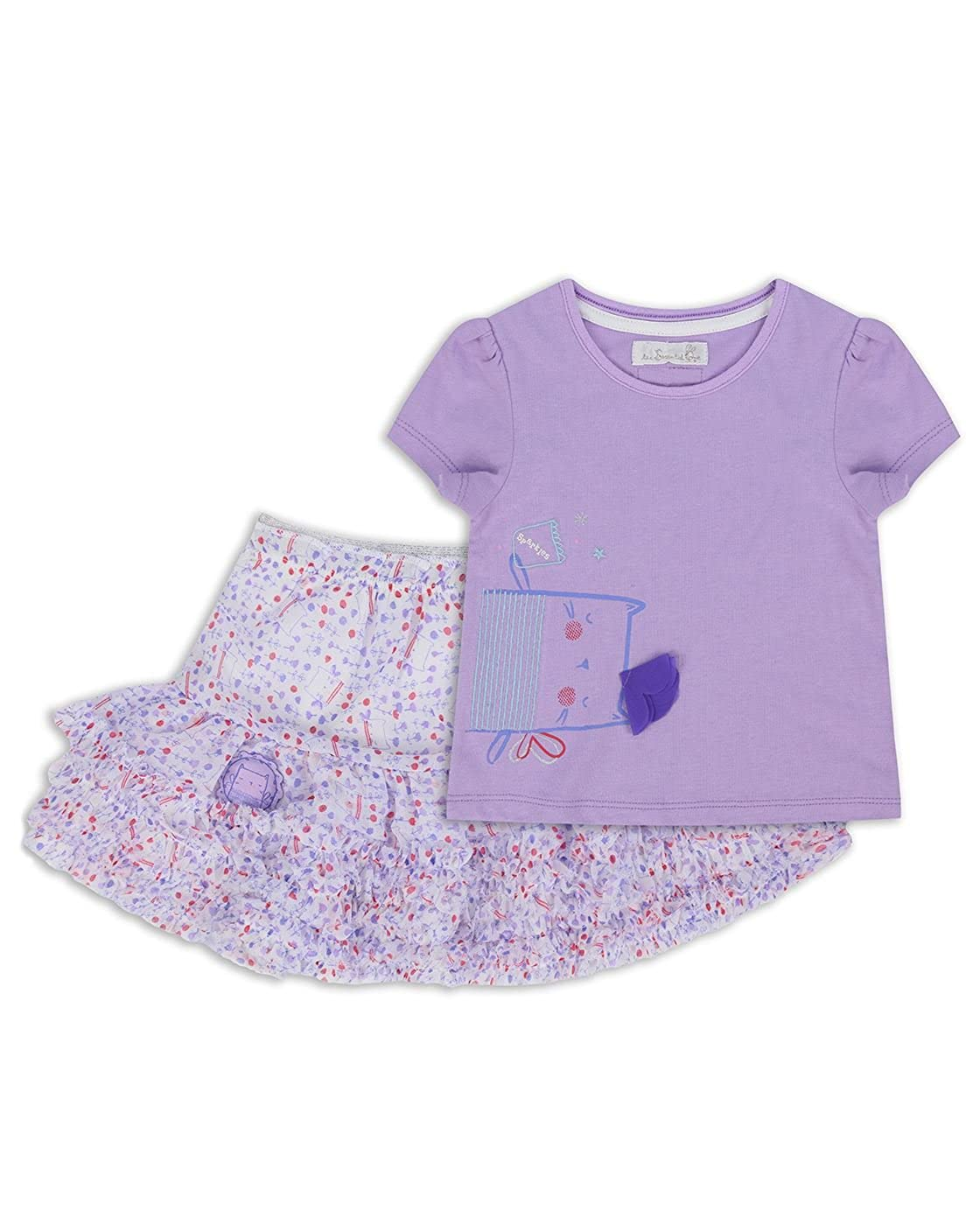 The Essential One - Baby Kinder Mädchen - T-Shirt und Tutu - Lila - EOT309