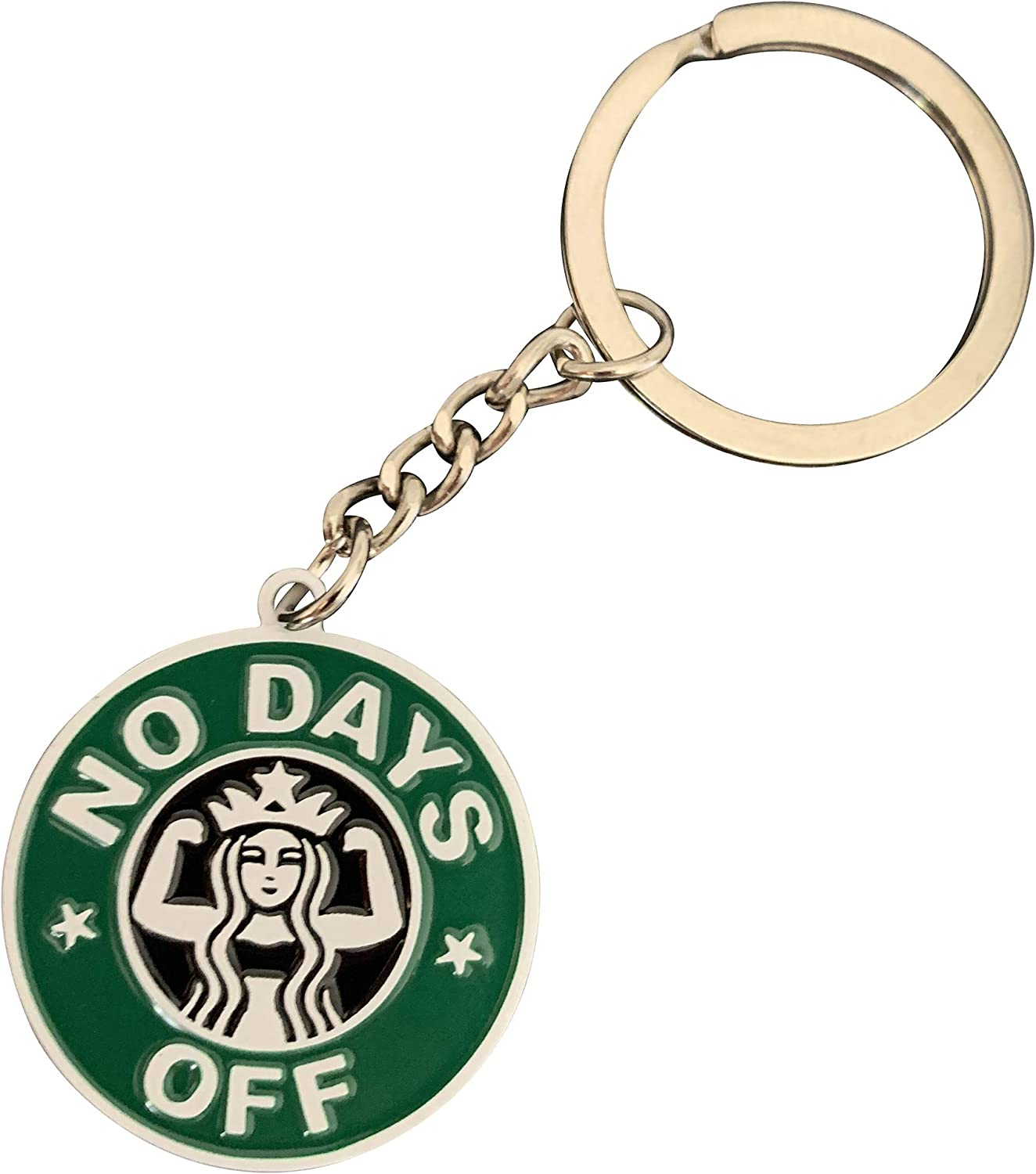Prime Creations Starbuff Cute Keychain for Coffee Lovers | Fun Keychains for Women, Girls & Men