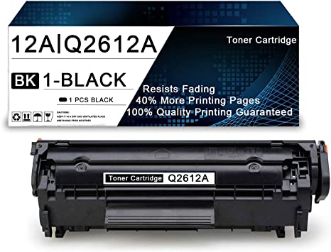 Q2612A Toner Cartridge Replacement for HP Laserjet 1020 1022n 1022nw MFP 3052 MFP 3050 MFP 3030 MFP 3020 MFP 3380 MFP 3015 MFP M1319f M1005 MFP Toner Cartridge,by TmallToner 7-Pack Black 12A