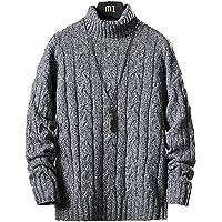 セーター メンズ 冬服 厚手 タートルネック ニットセーター 暖かい 防寒 カジュアル セーター 春秋冬