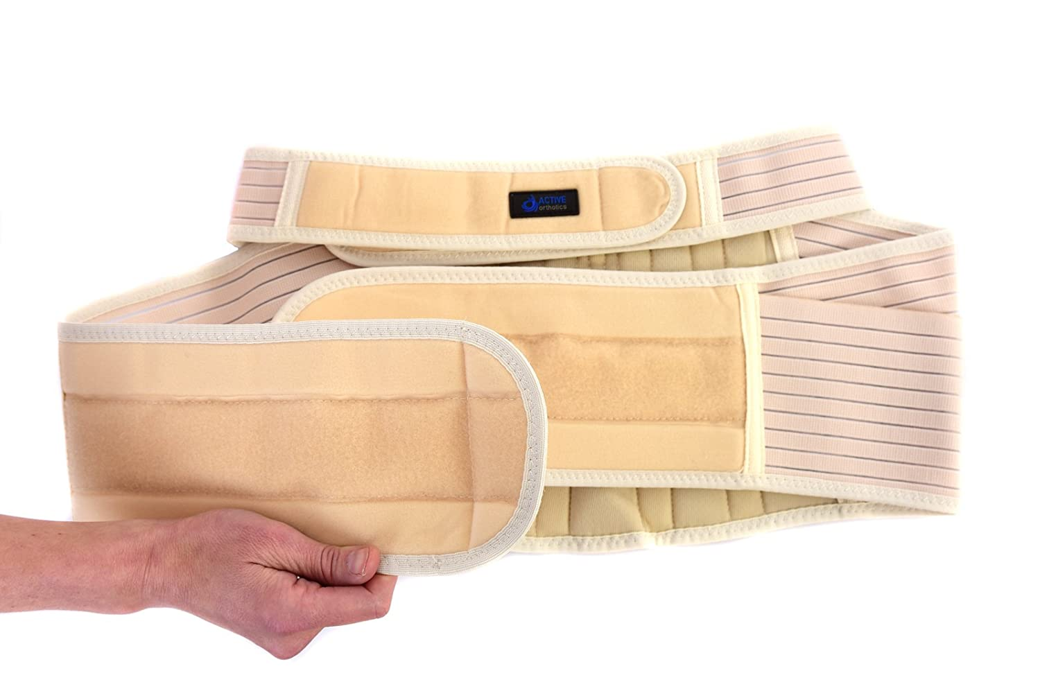 Active Orthotics Superior Double strap Maternity Support belt back posture support all sizes