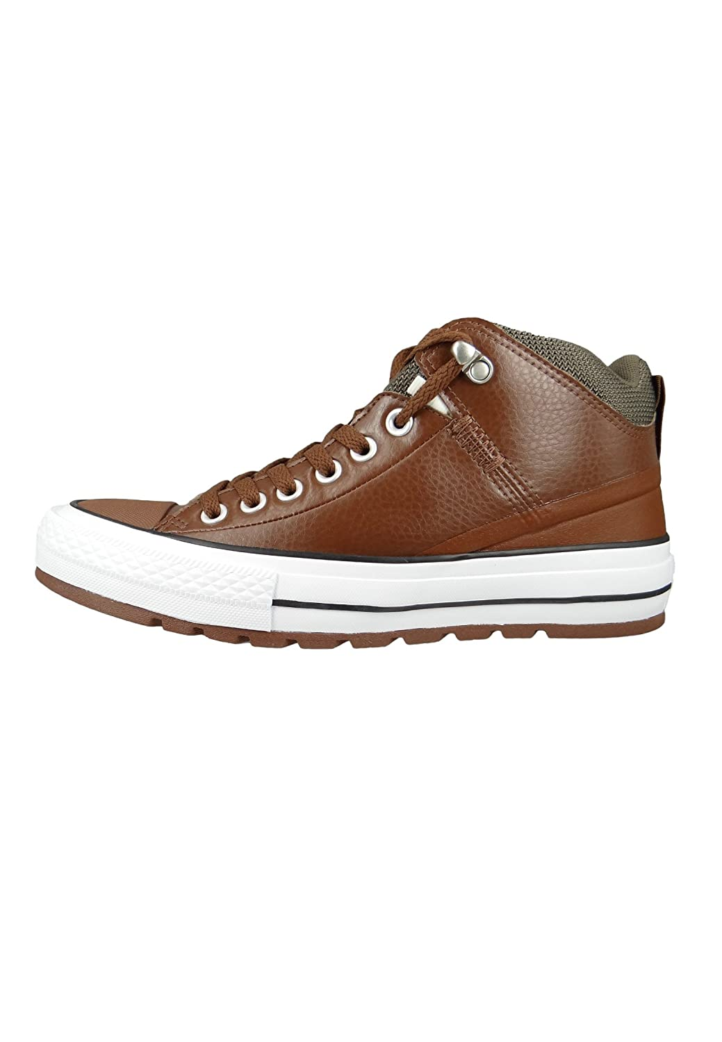 f861eb5ad74474 Converse Womens Chuck Taylor All Star Street Boot Hi Synthetic Trainers:  Amazon.ca: Shoes & Handbags