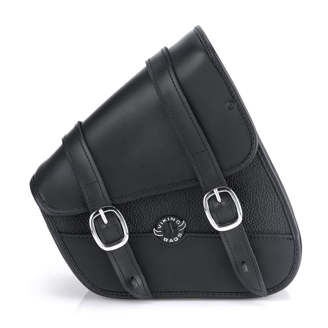 Viking Bags Harley Sportster Specific Motorcycle Swing Arm Bag Black