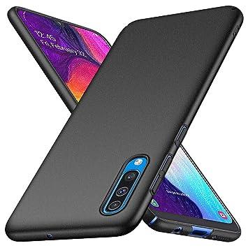TXLING Funda Samsung Galaxy A50 Carcasa [Ultra-Delgado] [Ligera] Anti-rasguños Estuche Ultra Slim Protectora Funda Case Duro Cover para Samsung Galaxy ...