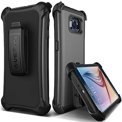 on sale 11c28 a784f Galaxy S6 Case, Verus [Thor Active][Dark Silver] - [Belt Clip][Heavy ...