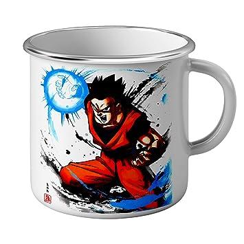 Emaillé Métal Ball Manga Mug Sangohan Dragon Dbz Gohan tQdshrCx