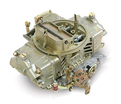 amazon com: holley 0-3310c 750 cfm four-barrel vacuum secondary manual  choke new carburetor: automotive