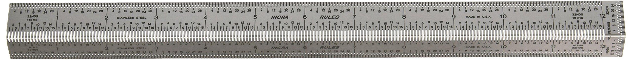 Incra BNDRUL12 12-Inch Incra Precision Bend Rule