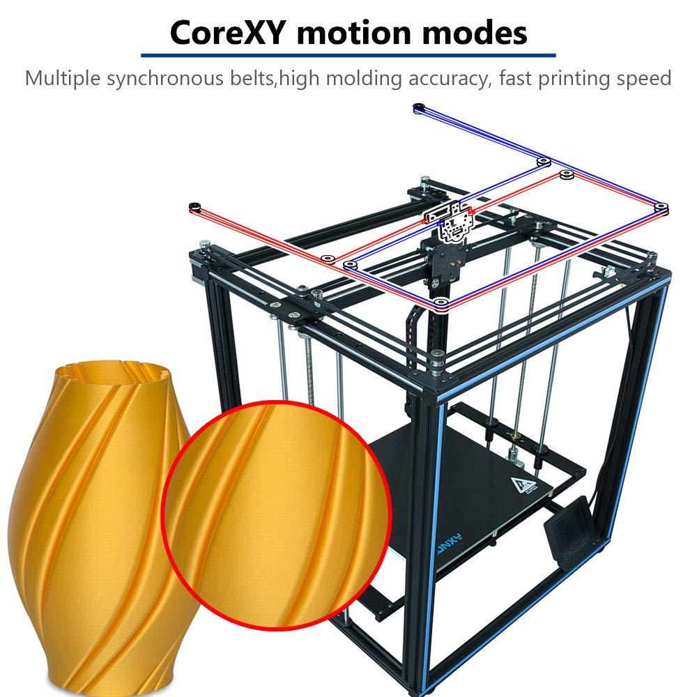 X5SA PRO Impresora 3D con Titan, estructura Core XY con guía ...