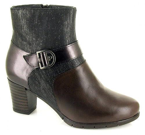 PITILLOS 1279, Botin marrón de Mujer, talla 37: Amazon.es: Zapatos y complementos