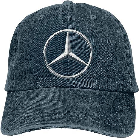 Nyanhif - Gorra para Hombre con Logo de Mercedes Benz, Color Negro ...