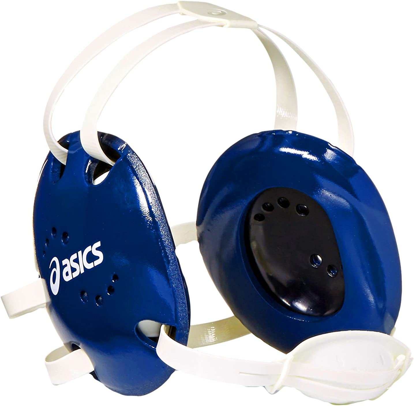 ASICS Snap Down Earguard, Royal, One Size : Clothing