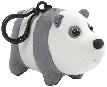 "Enesco We Bare Bears 2.5"" Plush Backpack Clip, ..."