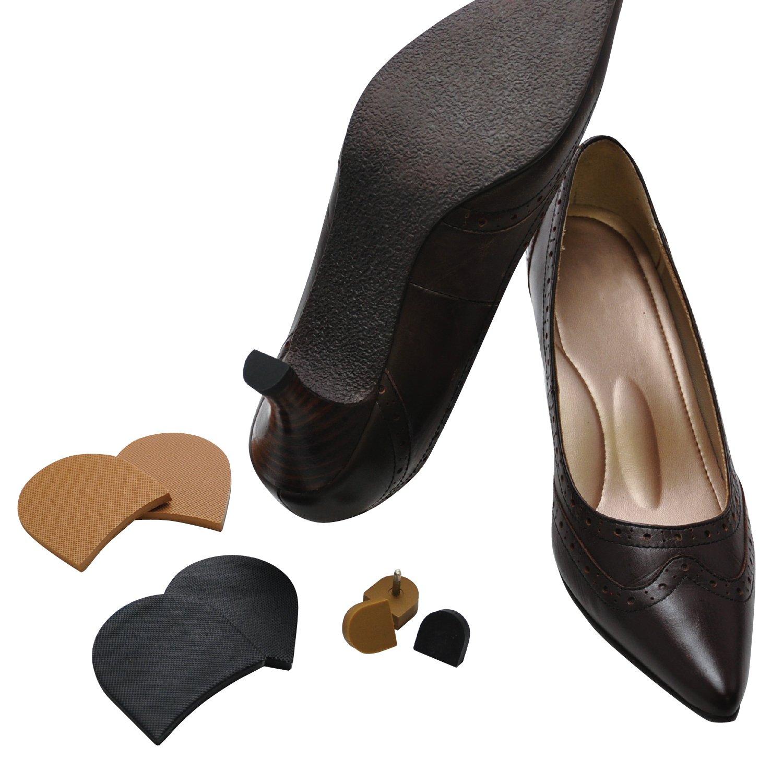[ミスターミニット] 宅配靴修理サービス Shoe Repair <レディース> かかとゴム交換+磨きコース 5足パック B07FCLQXZG