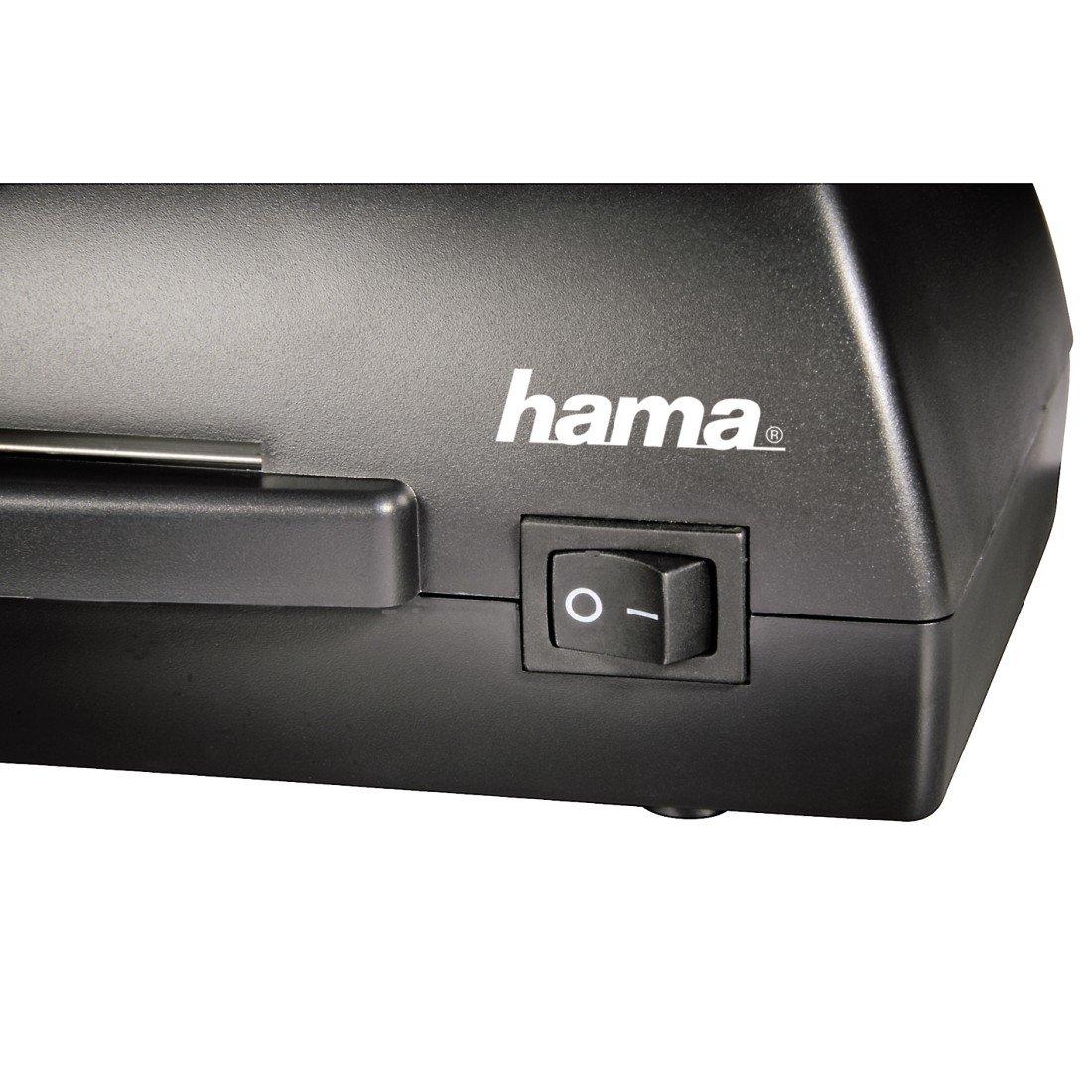 Hama Basic L42A Laminatrice per Fogli A4 Nero