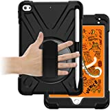 ORIbox Anti-Fall Case for iPad Mini 5th 7.9''(2019), Hybrid Shockproof Rugged Drop Protection Cover Built with Kickstand for
