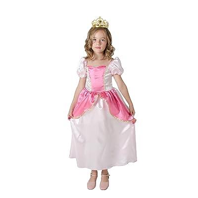 César F095-001 - Costume - Déguisement Princesse - Rose - 3/5 Ans