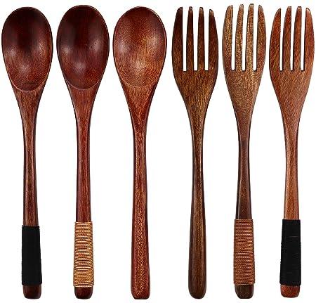 Juego de 6 cucharas de sopa de estilo japonés hechas a mano, de ...