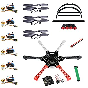 QWinOut F550 Airframe RC Hexacopter Drone Kit DIY PNF Unassembly ...