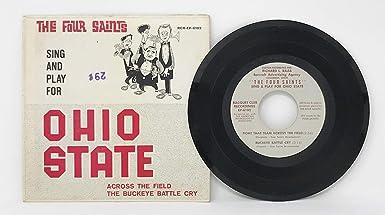Ohio State University 1965 The Four Saints RCR-EP-6102 OSU 45 Vinyl Record