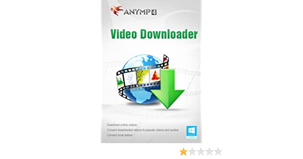 Amazon com: AnyMP4 Video Downloader 1 Year License - Best