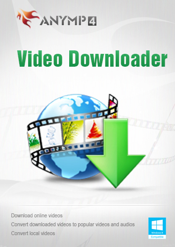 AnyMP4 Video Downloader 1 Year License - Best online video downloading software to help you download videos from online video websites such as YouTube, TED, Dailymotion, etc. [Download] (Video Downloader Url)