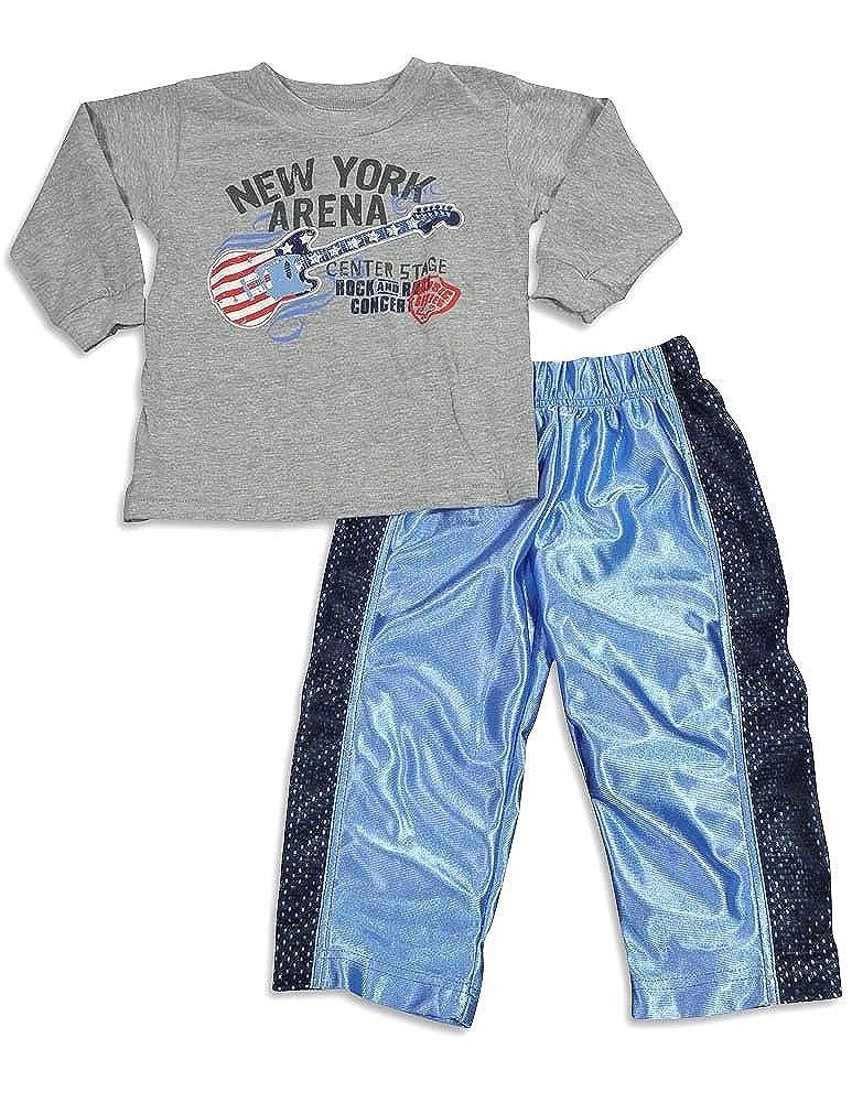 Mis Tee V-Us Baby Boys Long Sleeve Pant Set