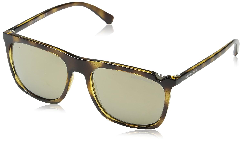 03af88b13 Óculos de Sol Emporio Armani EA4095 5026 Tartaruga Lentes Ouro Espelhadas:  Amazon.com.br: Amazon Moda